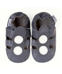 Capačky barefoot Capiki šedé sandálky 764ed03fdb