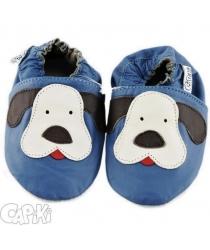 Capačky barefoot Capiki psík modrý 6d67b54501
