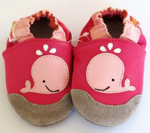 Capačky barefoot TapTapi ružová Veľrybka e707d3bff82