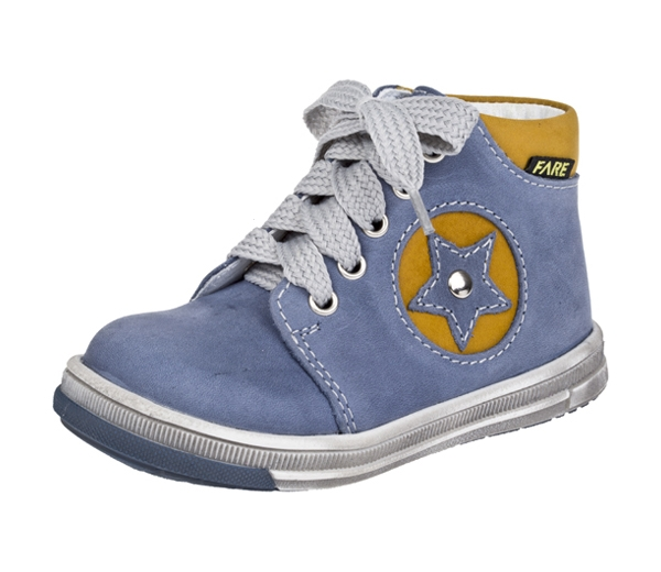 b836e6ba01 Detská kožená obuv Fare 2129106